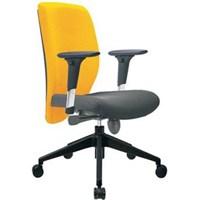 Donati Kursi Kantor Stello 2 N Synchro - Kuning