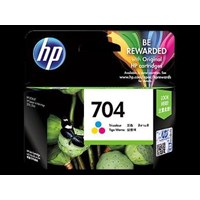 Tinta Printer HP Original Ink Cartridge 704 - CN693AA - Tri-Color