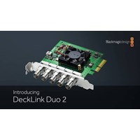 Software blackmagic declink duo 2