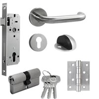 Kunci Pintu [Paket Set Promo] Yale Door Lock YTL 010 Set