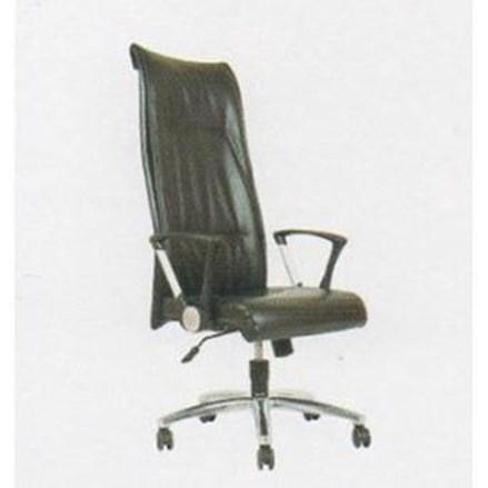 Kursi Kantor Chairman Premier Collection PC 9710 BAC - Oscar / Fabric - Kaki Aluminium - Hydrolic - Hitam - Inden 14-30 Hari