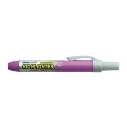 Stabilo Artline CLIX EK-63 - 4.0 mm - Tinta Fluoro Purple - 1 Pak Isi 12 Pcs