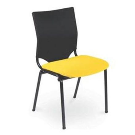 Kursi Kerja / Kursi Kantor Chitose Duo 04 - Kuning - 1 Karton Isi 4 Pcs
