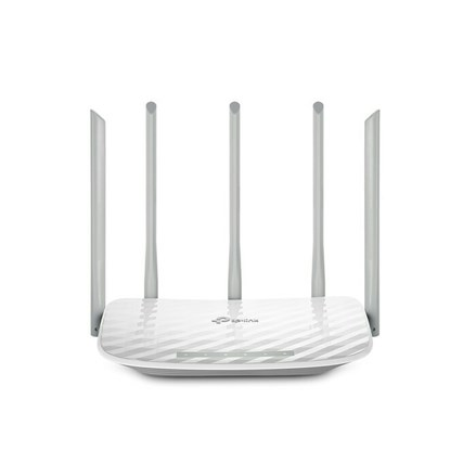 Wireless Router Dual-Band Wi-Fi TP-Link 867Mbps at 5GHz + 450Mbps at 2.4GHz Archer C60(US)