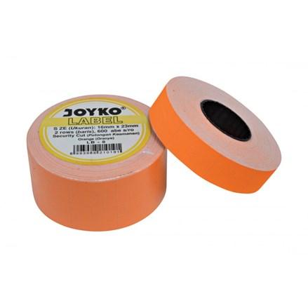 Label Harga Joyko LB-8 (2 baris, Cah-Cah, fluorescent orange)