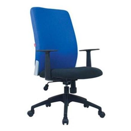 Kursi Kantor Chairman Modern Chair MC 1301 - Biru - Inden 14-30 Hari