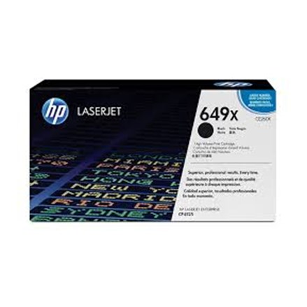 Toner printer cartridge Hp CE260X Black