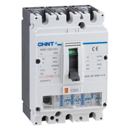 MOULDED CASE CIRCUIT BREAKER (MCCB) NM8S-125S 3P
