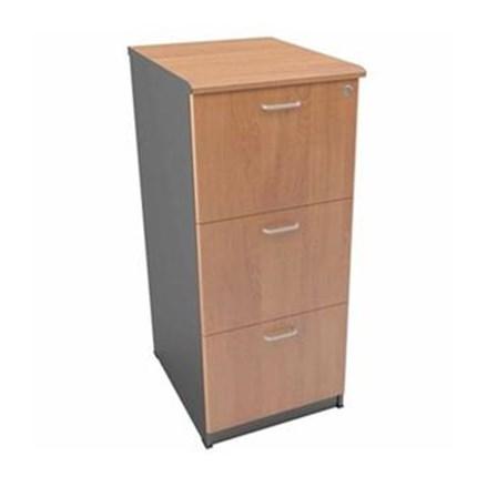 Uno Filing Cabinet Gold UFL 4253 - 3 Laci - Cherry - Inden 14-30 Hari Kerja