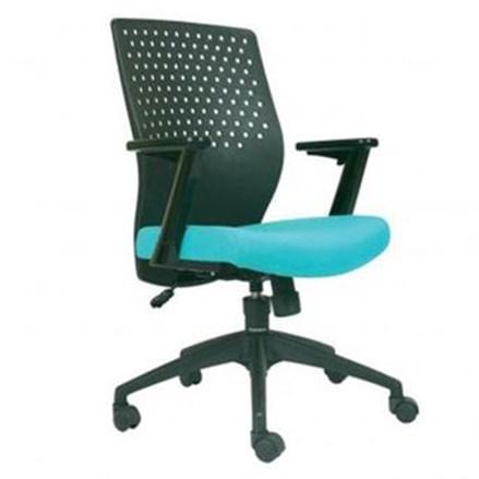Chairman Modern Chair Kursi Kantor MC 2501 A - Biru - Inden 14-30 Hari