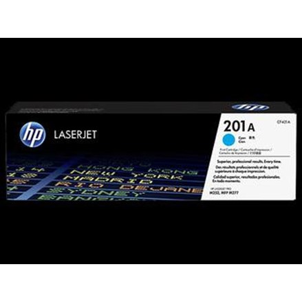 Toner Cartridge HP Original  LaserJet 201A - CF401A - Cyan