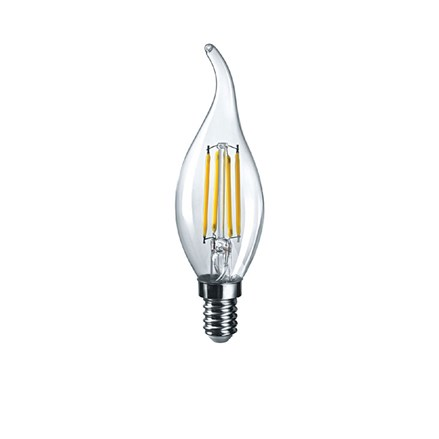 LED Filament CA35 4W Clear