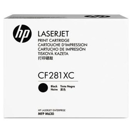 Toner Printer Cartridge HP Original High Yield Contract LaserJet 81X - CF281XC - Hitam