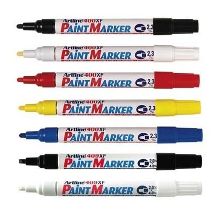 Spidol Permanen / Marker Permanent Artline Paint Marker 409XF Kuning
