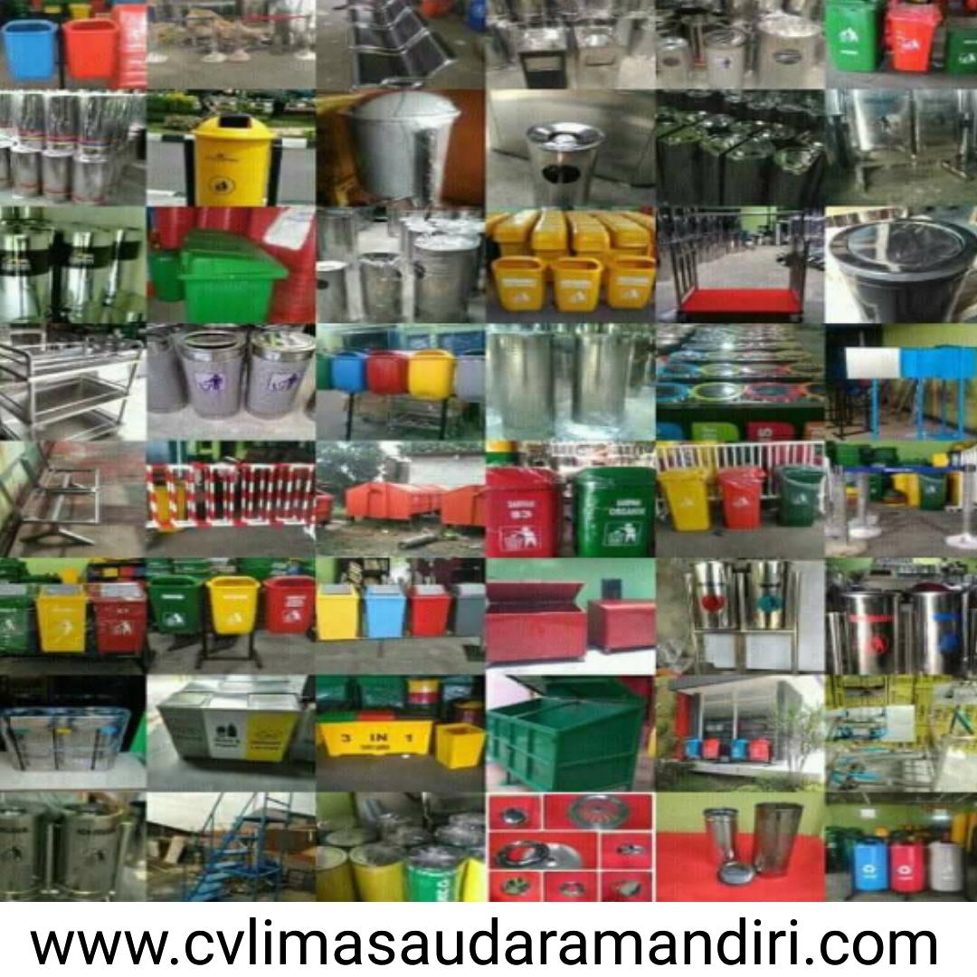 Pabrikasi Tong Sampah Fiber