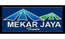 Logo Toko Konveksi Mekar Jaya Tenda