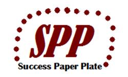Success Paper Plate
