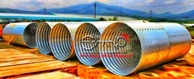 Corrugated Steel Pipe atau Armco