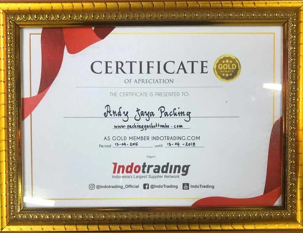 sertifikat andy jaya packing