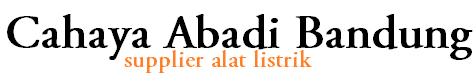 Logo Toko Cahaya Abadi Bandung
