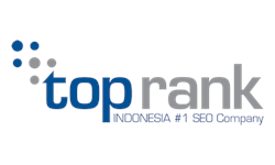 Logo CV. Top Rank