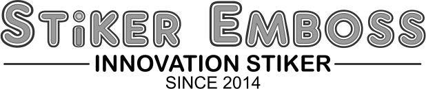 Logo Toko Stiker Emboss