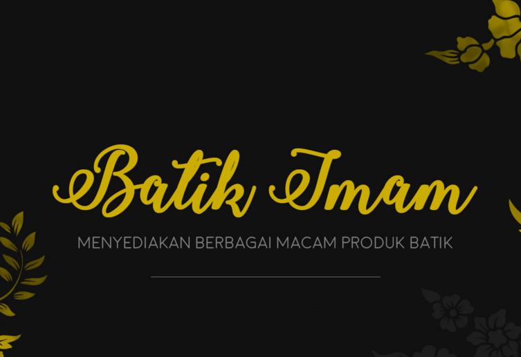 Logo Toko Batik Imam