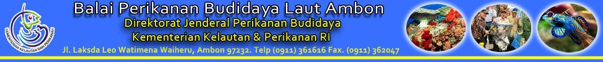 Logo PT  Balai Perikanan Budidaya Laut Ambon