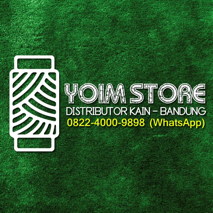 Logo Toko Yoim Store | Distributor Bahan / Grosir Kain Bandung