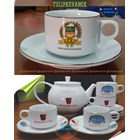 Cofee set promotion. Teapot and Cup set 8