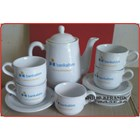 Cofee set promotion. Teapot and Cup set 4