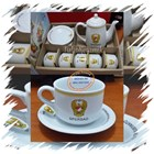 Cofee set promotion. Teapot and Cup set 9