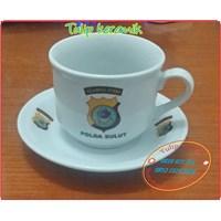 Jual Cangkir dan Tatak Cup Saucer 12 pcs 2