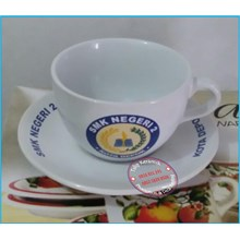 Cangkir dan Tatak Cup Saucer 12 pcs