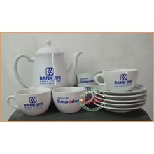 Mug and Saucer Cup Tatak 12 pcs