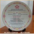 Piring keramik promosi 1