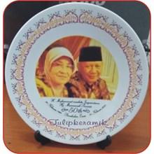 Piring keramik promosi