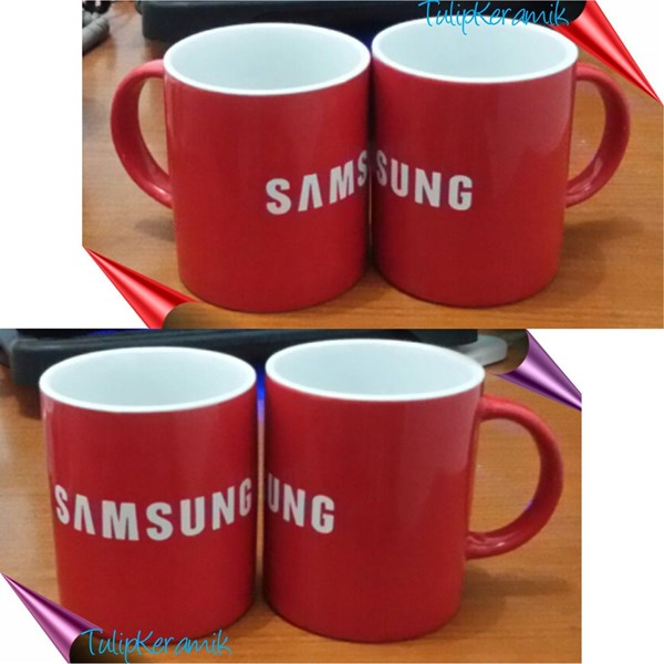 Mug Keramik Warna Warni