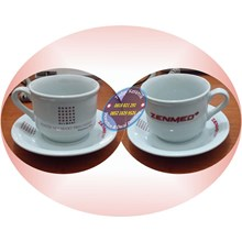 Cup of cofee mug promotion set promotion