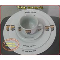 Piring Makan Logo Polda
