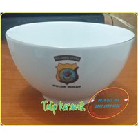 Mangkok Keramik Polda Sulut
