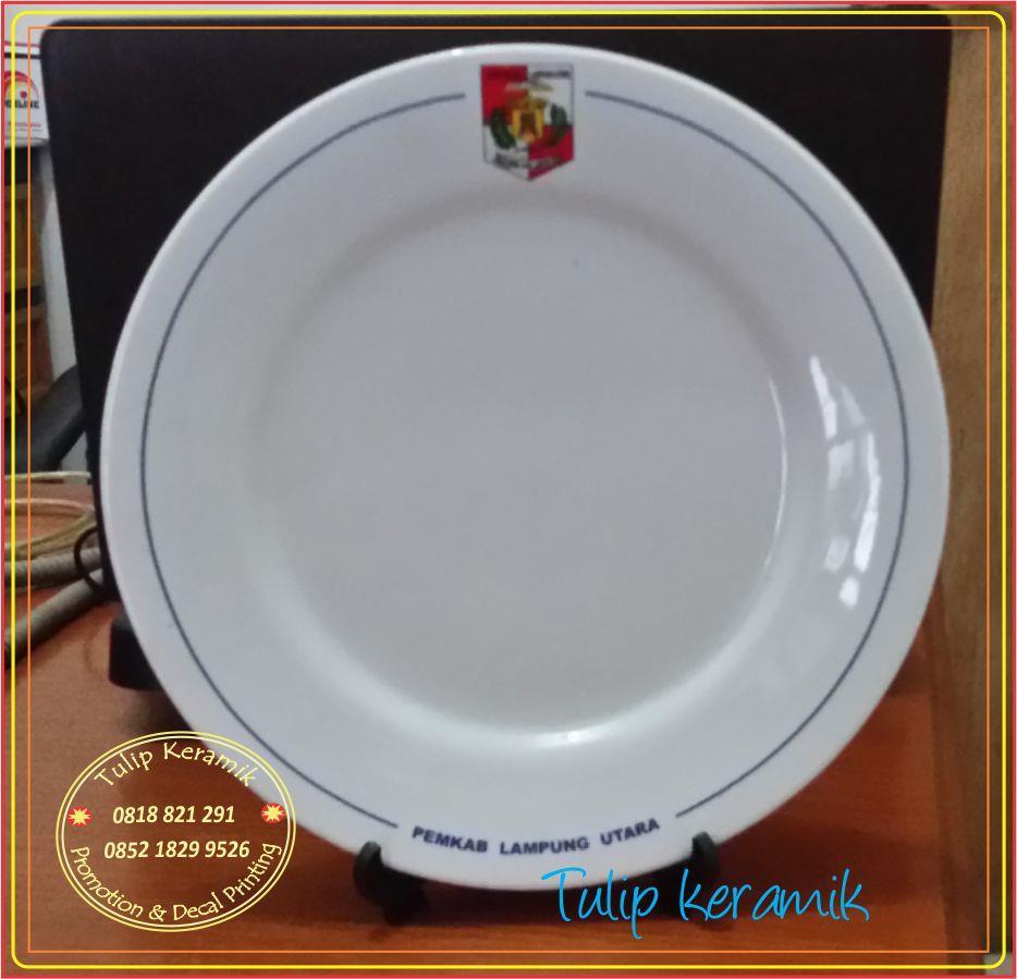 Jual Piring Makan Harga Murah Bogor oleh CV. Alimar Sejahtera (Tulip Keramik)