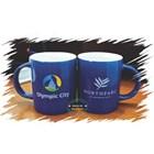 Red ceramic mug 2
