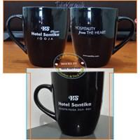 Mug Corel Hitam - Gelas Promosi 1