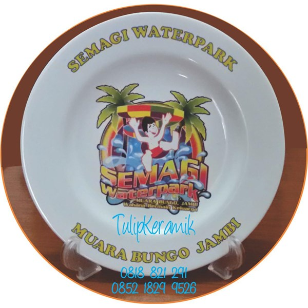 Waterboom semagi plate