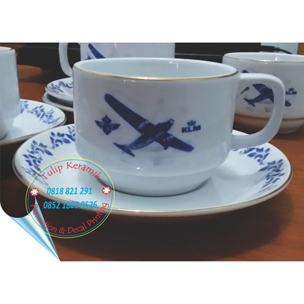 Plate Klm Line Merchandise