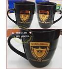 Mug Keramik Promosi Hitam 5