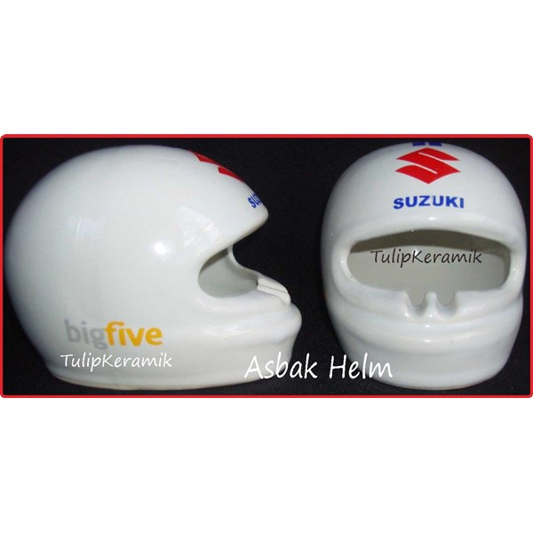 Asbak rokok model Helm