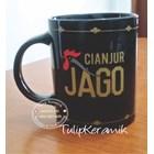 Ceramic Black Mug 10