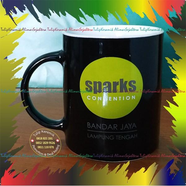 Souvenir mug warna